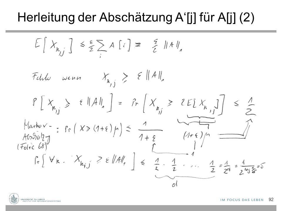 Herleitung der Abschätzung A'[j] für A[j] (2)